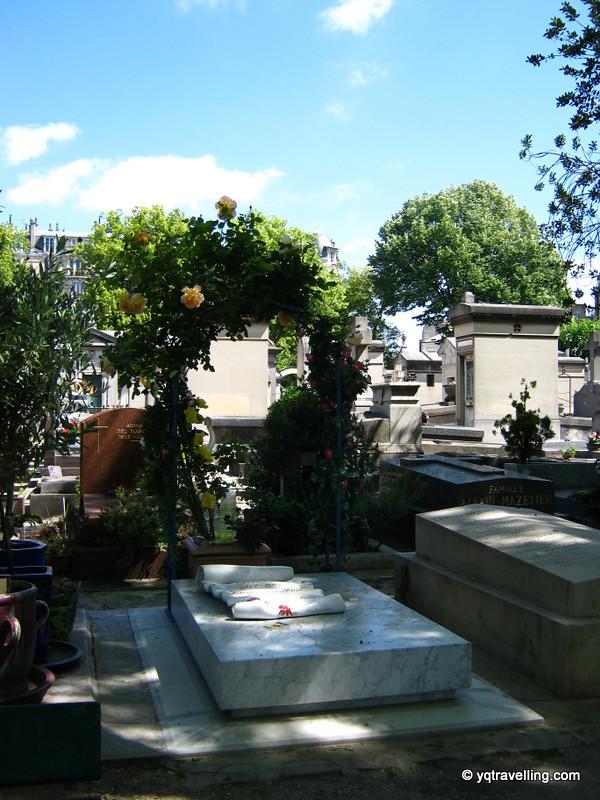 Graves in Montparnasse