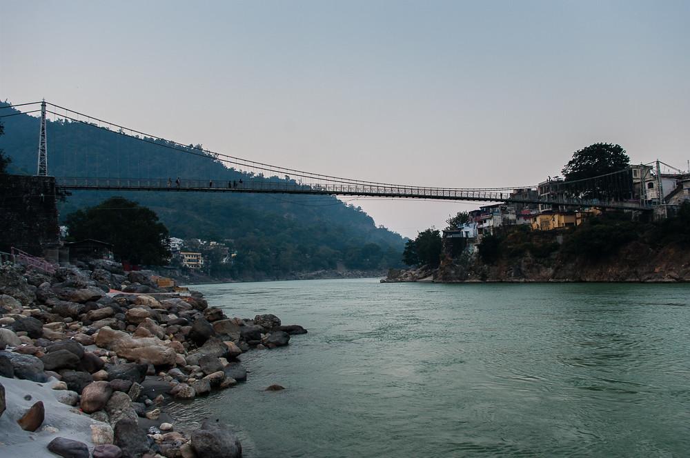 View on Laxman Jhula