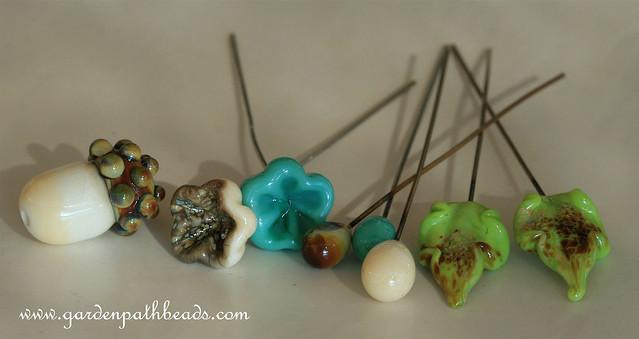Lampwork Headpins