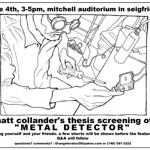 Metal Detector Invitation