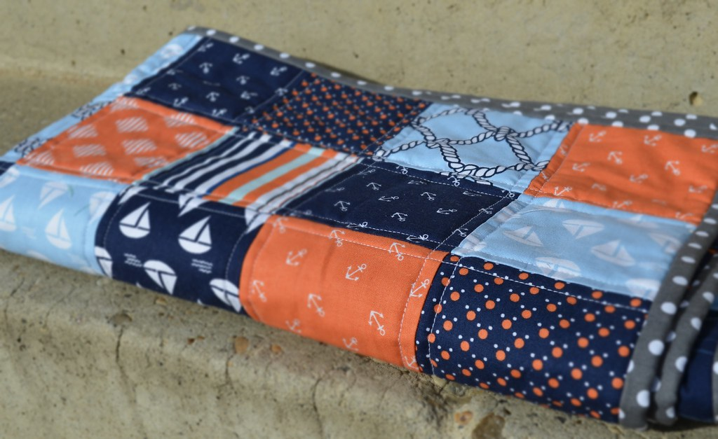 How to Make Fat Quarter Baby Quilts | Mama's Crafts : fat quarter baby quilts - Adamdwight.com