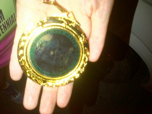 Midnight Run 2012: Creepy Medal
