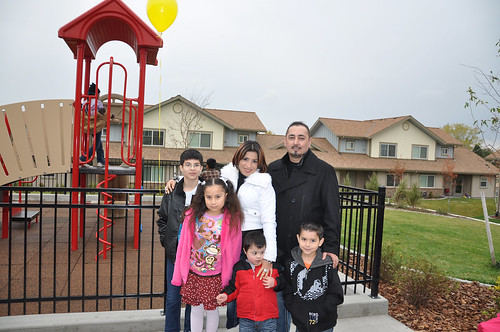 For Martin Paredes and his family (pictured here), Castle Rock Apartments provide good quality rental housing for working families, while serving as a stepping stone to home ownership.