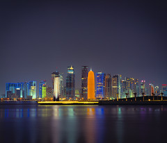 7 and New Doha Skyline II
