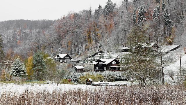 Prawie zima - Ojcowski Park Narodowy