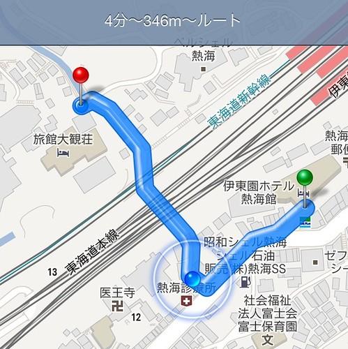 大観荘へ by haruhiko_iyota