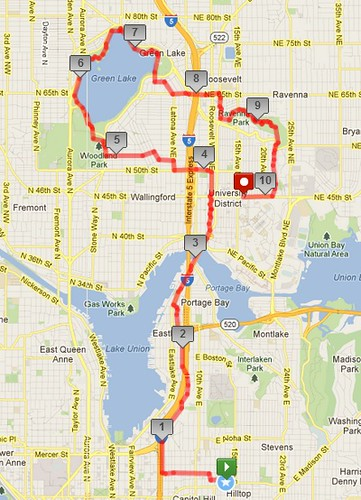 Today's awesome walk, 10.21 miles in 3:10 by christopher575