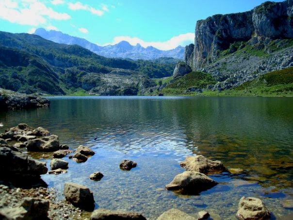Lago Enol, Picos de Europa, Asturias, España