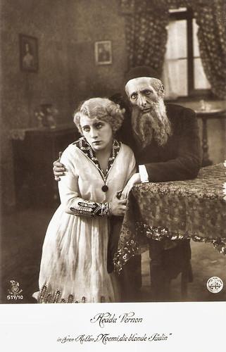 Hedda Vernon in Noemi, die blonde Jüdin.