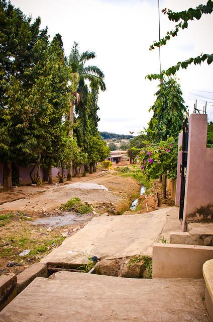 street in Kumasi