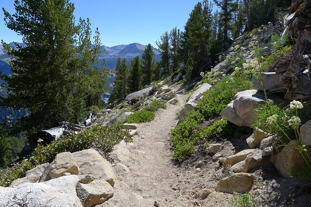 Trail above Purple Lake