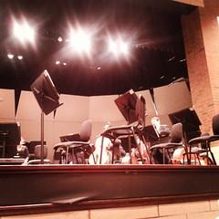 Intermission at Illinois Philharmonic Orchestra
