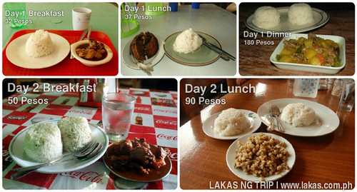 The food I ate on my trip to Quezon, Palawan