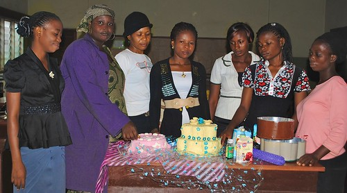 Students of the Mater Dei Vocational Training Centre learning Catering skills