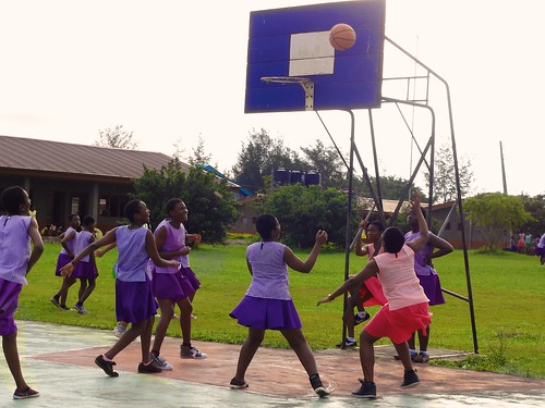 Basketball is one of the main sports in Louisville High School, Ijebu-Itele, Ogun State, Nigeria