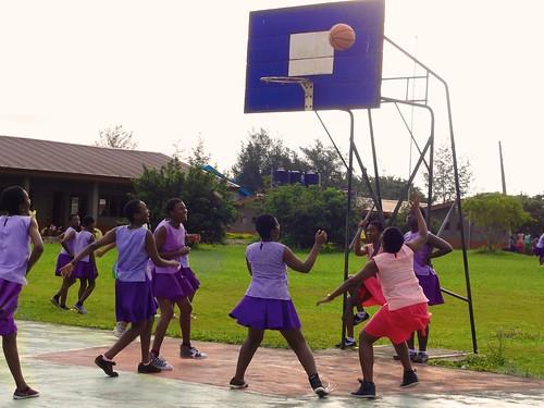Basketball is one of the main sports in Louisville High School, Ijebu-Itele, Ogun State, Nigeria