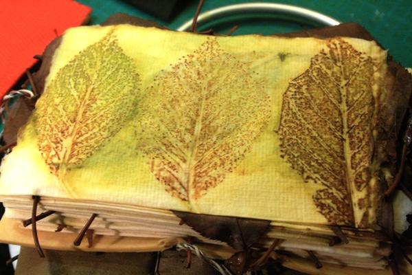 Leaf Monoprinting 16-06