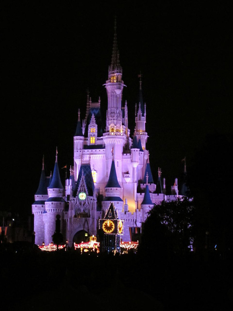 Castle in Magic Kingdom, Disney, Orlando