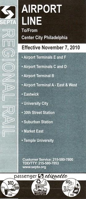 SEPTA Airport Line