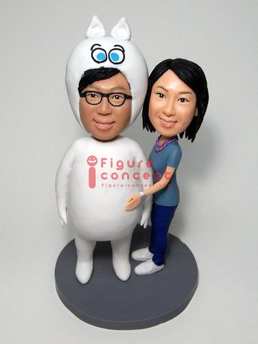 I LOVE 無明 - Q版人像公仔 by www.figure-concept.com