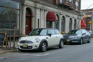 Oxford White Mini Cooper in Upper Montclair