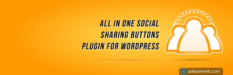 Plugin chèn các nút mạng xã hội vào blog đa năng