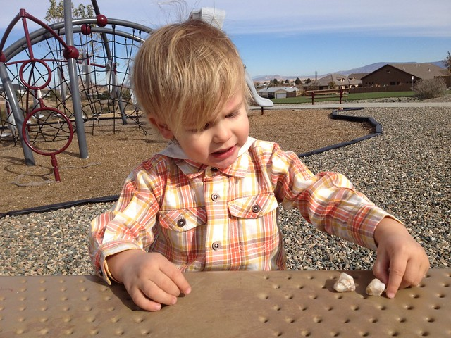 Park with Henry 11/14/12