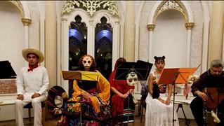 Espectáculo musical y teatral a cargo de la compañía La Catrina