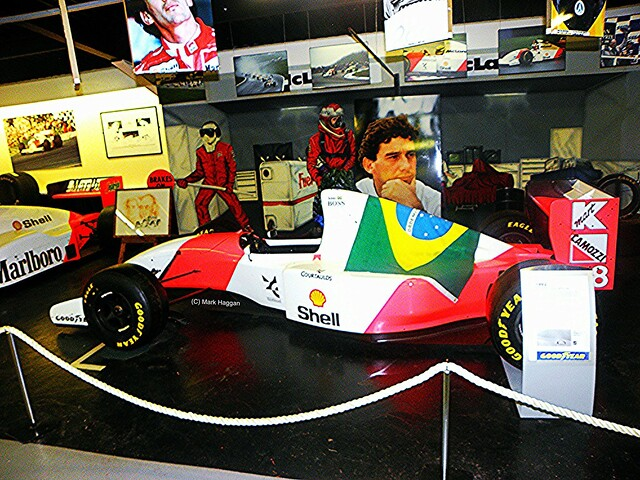 The Ayrton Senna tribute at The Donington Collection