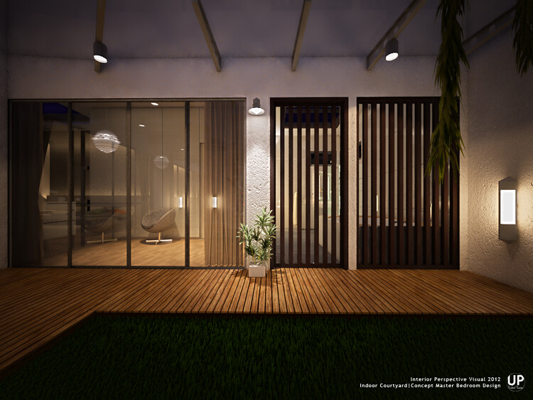 Master Bedroom_Indoor Courtyard_2