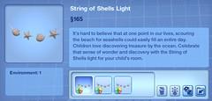 String of Shells Light