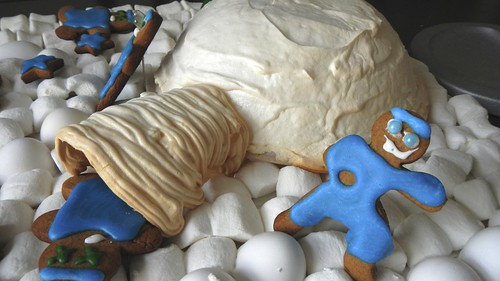 Meringue Igloo Day 4