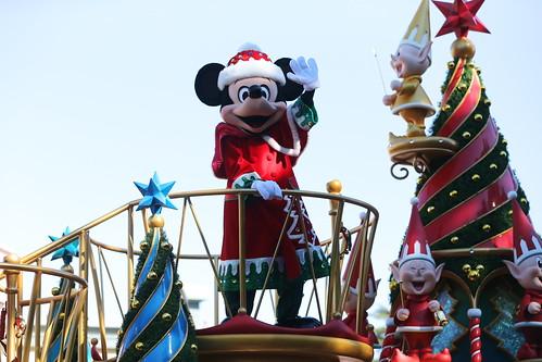 2012年ディズニー・サンタヴィレッジ・パレード