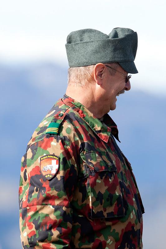 Uniform man