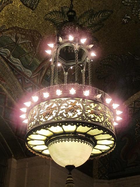 detroit chandelier