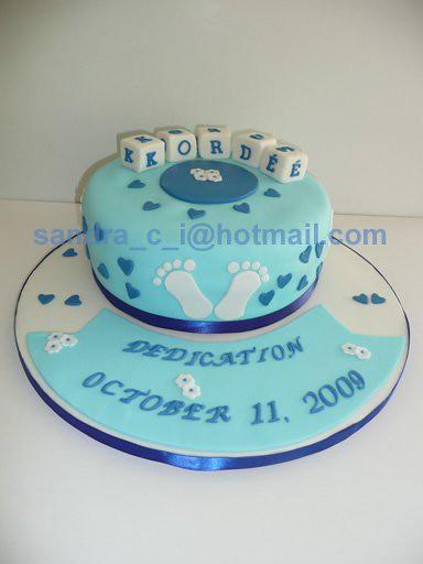 Baby Dedication Cake Images : Baby Boy Dedication Cake Explore entICING Sweets  photos ...