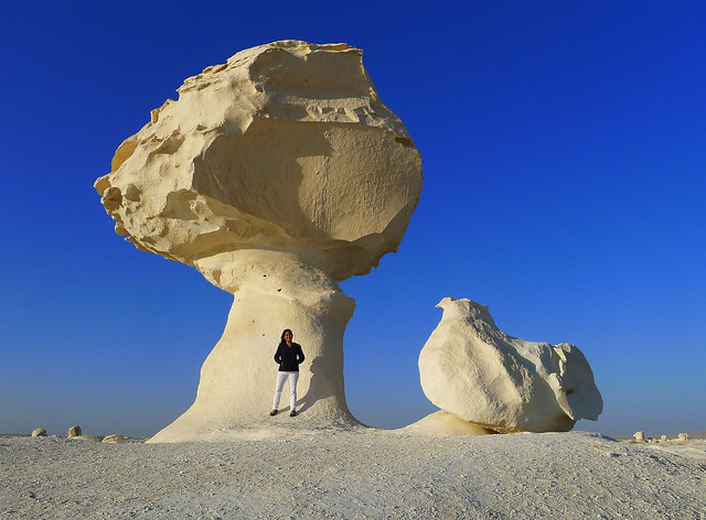 at White Desert Egypt