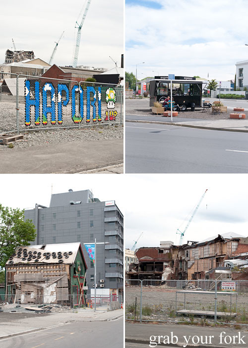christchurch earthquake red zone