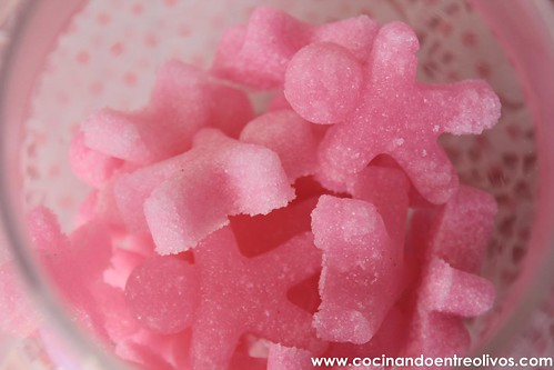 Como hacer terrones de azucar de colores (1)