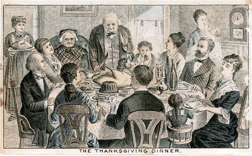 Edw W Ridley & Sons, Thanksgiving 1870 (public domain)