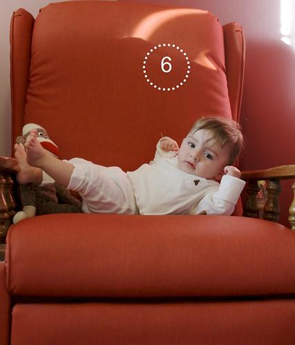 Alice Linda, 6 months