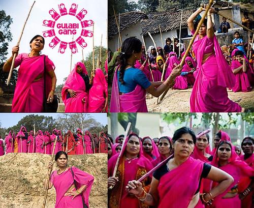 Gulabi Gang founder - Sampat Pal Devi