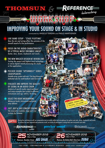 """Improving your sound on stage and in studio"" 