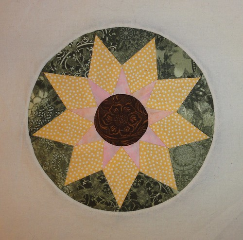 Block 4: Kansas Sunflower