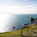Path between Lulworth Cove and Durdle Door @ Dorset, UK