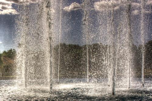 [フリー画像素材] バックグラウンド, 水・氷, 噴水, HDR ID:201211290400
