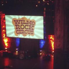 Doors open in just a few minutes! #netDE #WilmoRockCircus #BeHere