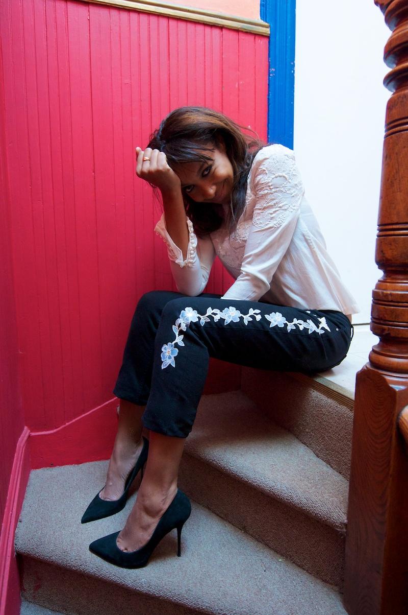 Isabel Marant DIY jeans