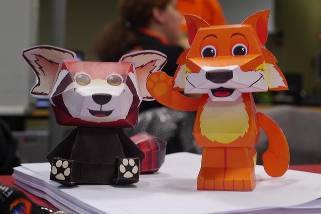 Ubuntu Party 12.10 Mozilla goodies