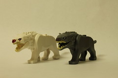 LEGO The Hobbit Attack of the Wargs (79002) - Wargs